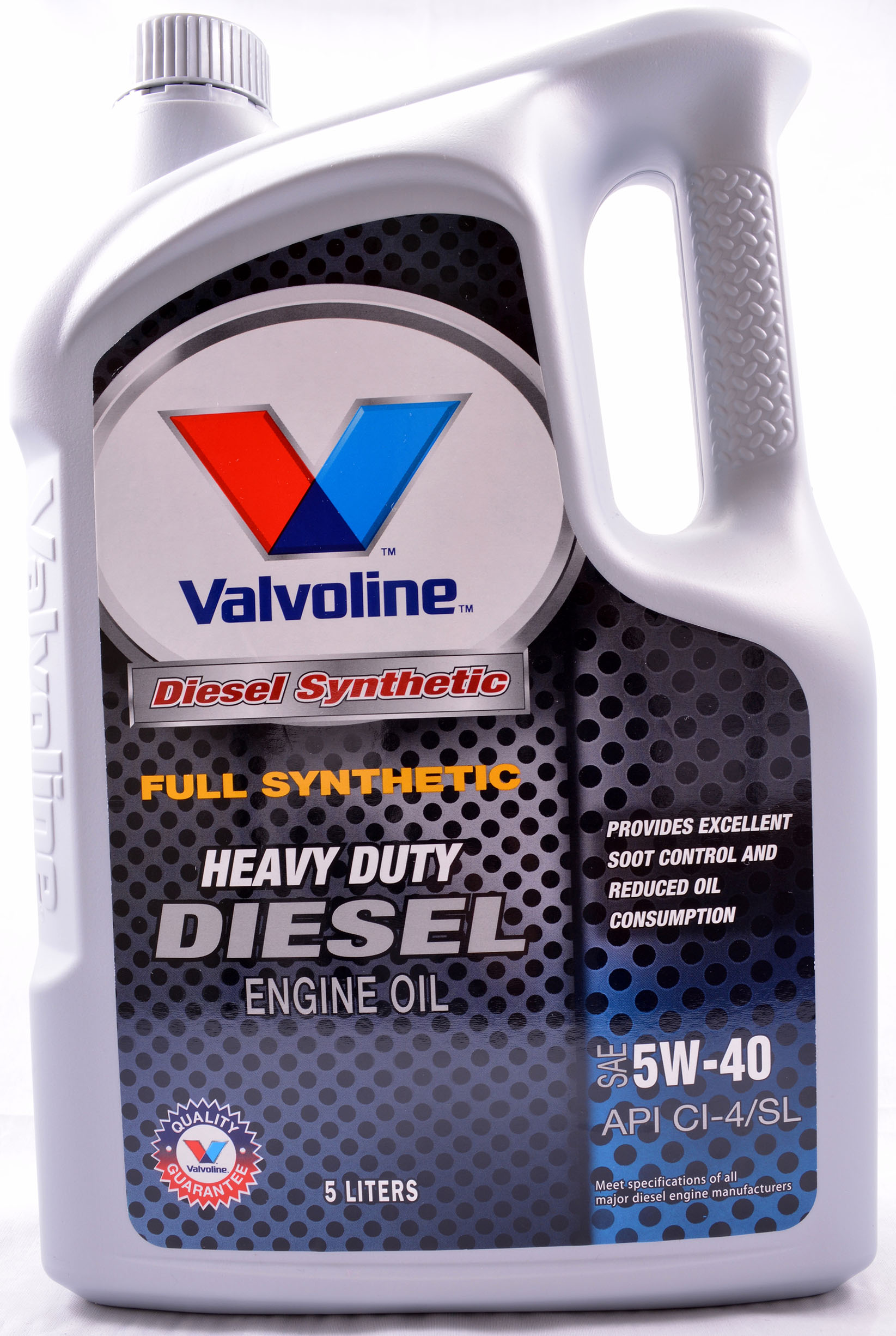 valvoline diesel 5w40 full synthetic diesel engine oil